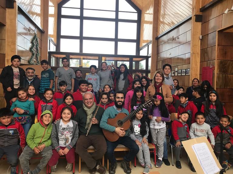 Escuela rural Bahía linao